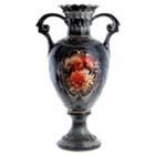 """Ваза напольная керамика  """"Красные маки"""", h-70 см, SL333371"""