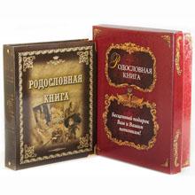Родословная книга металлиз. Альбом в картонной коробке, GP040201