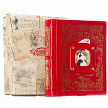 Совет да Любовь книга-альбом (красный) кожа,GP040402003