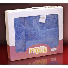 Набор банный халат+ 2 полотенца арт.PR-hlt014-5