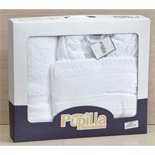 Набор банный халат+ 2 полотенца арт.PR-hlt014-7