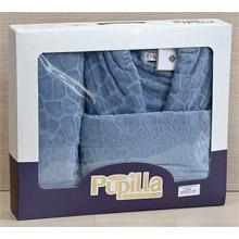 Набор банный халат+полотенце арт.PR-hlt014-11