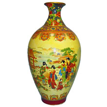 Ваза керамическая в китайском стиле, h-36 см ,N11008