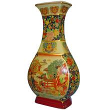 Ваза керамическая в китайском стиле, h-46см ,N11011