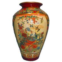 Ваза керамическая в китайском стиле, h-36см ,N11013