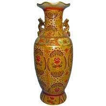 Ваза керамическая в китайском стиле, h-46см ,N11073