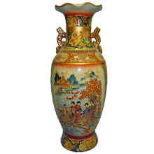 Ваза керамическая в китайском стиле, h-46см ,N11081