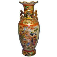Ваза керамическая в китайском стиле, h-46см ,N11085