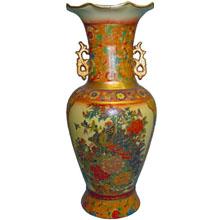 Ваза керамическая в китайском стиле, h-40см N11100