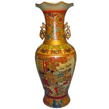 Ваза керамическая в китайском стиле, h-45см N11103