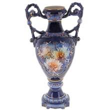 """Ваза """"Кувшин с хризантемами"""", напольная, керамика, SL172560"""