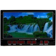 Картина с календарем и подсветкой Водопад размер 80,5x 53 см
