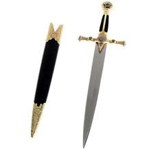 Сувенирное оружие меч на рукояти вставки навершие ввиде звезды S