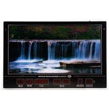 Картина с календарем и подсветкой Водопад размер 53х81 см